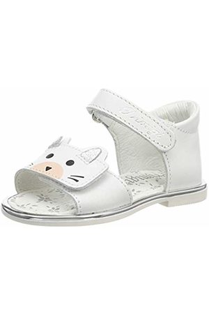 Primigi Baby Girls'' Phd 34165 Open Toe Sandals (Bianco 3416500) 7 UK