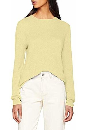 SPARKZ COPENHAGEN Women's's Pure Cashmere O-Neck Pullover Jumper, (Pastel )