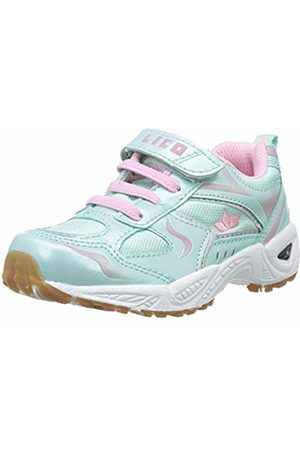 LICO Girls'' Bob Vs Multisport Indoor Shoes, Turquoise Türkis/Rosa