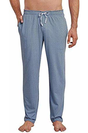 Schiesser Men's's Mix & Relax Hose Lang Pyjama Bottoms (Indigo 824) XX-Large (Size: 056)