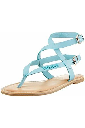 Tommy Hilfiger Women's Iconic Flat Strappy Sandal Flip Flops