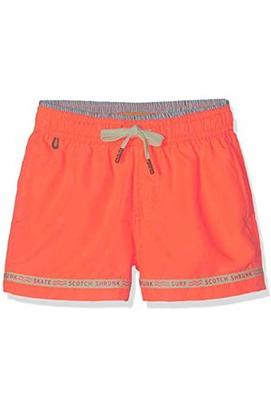 Scotch&Soda Boy's Sporty Fit Swimshorts with 'Magic Print' Swim Shorts Electric 209