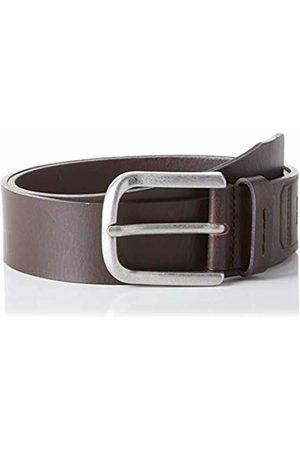 Brax Men's Masterpiece Büffelleder Uni Schließe American Silver Belt, (Dark 52)