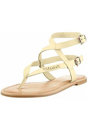 Tommy Hilfiger Women's Iconic Flat Strappy Sandal Flip Flops