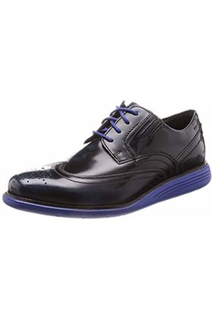 Rockport Men's Total Motion Sport Dress Wingtip Brogues New Blues Box Lea 002
