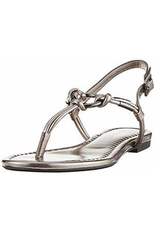Armani Women's Flat Sandal with Knot Flip Flops