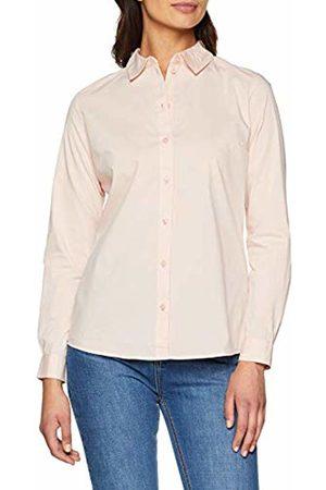 JDY Women's's mio L/s Shirt WVN Noos Blouse, Rose Smoke
