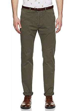 Scotch&Soda Mens 99019980099 Cotton/stretch Belted Chino Trousers