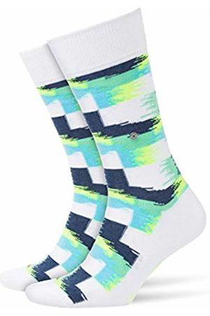 Burlington Men's's Painted Check Socks