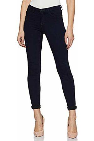 Only Women's onlRAIN REG SKINNY JEANS CRY1050 Trouser, (Dark Denim)