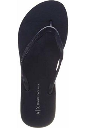 Armani Women's Rubber Slide Flip Flops 5 UK