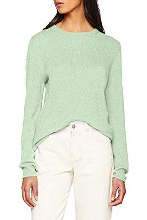 SPARKZ COPENHAGEN Women's's Pure Cashmere O-Neck Pullover Jumper Water