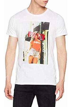 s.Oliver Men's 40.903.32.5236 T-Shirt, ( 0100)
