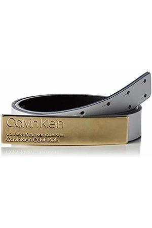 Calvin Klein Women's 2.5cm Plaque Belt (Bright 107)