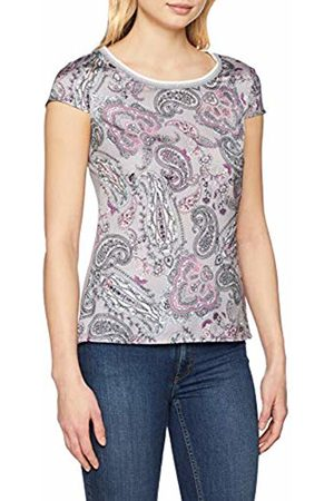 Comma, Women's 81.903.32.3306 T - Shirt Mehrfarbig AOP 95a7