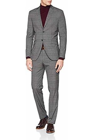 Jack & Jones Premium Men's Jprkingsburg Suit, Grau Melange