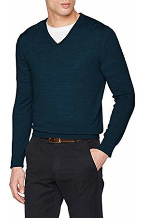 Celio Men's Merinos Turtleneck, Pétrole