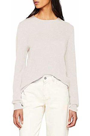 SPARKZ COPENHAGEN Women's's Pure Cashmere O-Neck Pullover Jumper, (Pale Blush)