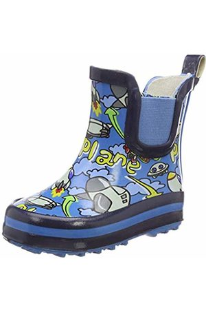 Beck Boys'' Plane Wellington Boots (Blau 34) 2 UK