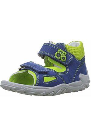 Superfit Baby Boys'' Flow Open Toe Sandals (Blau/Grün 81) 5.5 UK