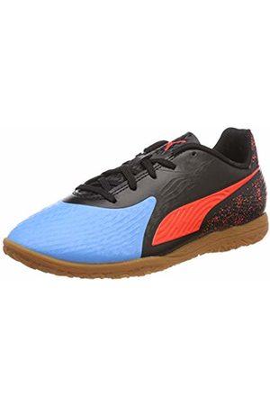 Puma Unisex Kids One 19.4 It Jr Multisport Indoor Shoes, (Bleu Azur- Blast -Gum)