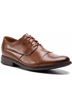 Clarks Men's Becken Cap Derbys (Tan Leather -) 8.5 UK