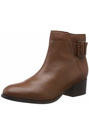 Clarks Women's's Elvina Dream Biker Boots (Tan Leather) 6.5 UK