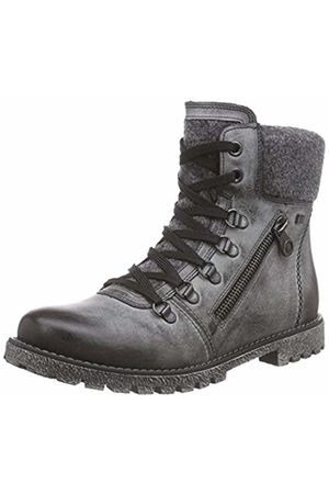 Rieker Girls' K1592 Combat Boots, -Grau (Asphalt/Granit / 45)