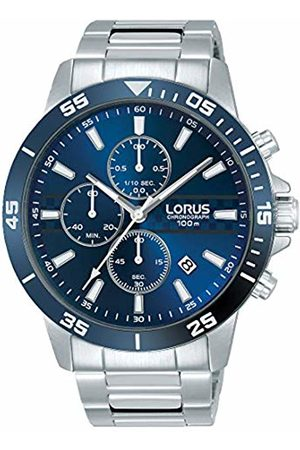 Lorus Mens Chronograph Quartz Watch with Stainless Steel Strap RM303FX9