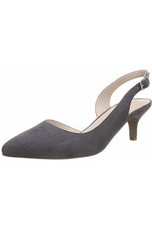 Esprit Women's's Caty Sling Back Heels, Grau (020 Dark )