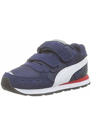 Puma Unisex Kids' Vista V Inf Low-Top Sneakers, (Peacoat )