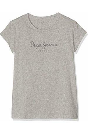 Pepe Jeans Girl's Hana Glitter S/s T-Shirt