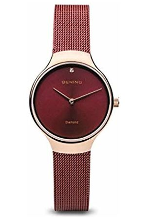Bering Womens Analogue Quartz Watch with Stainless Steel Strap 13326-Charity