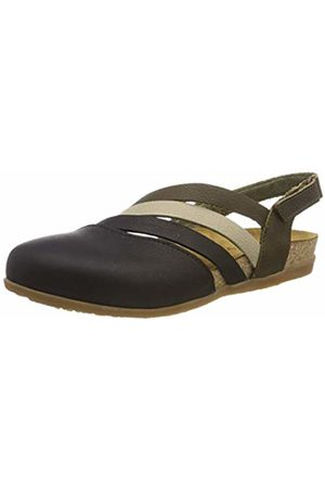 El Naturalista Women's Nf45 Soft Grain Multi /Zumaia Closed Toe Sandals