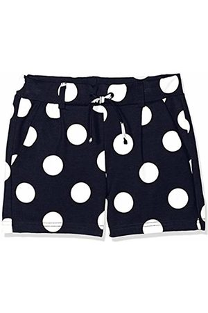 Name it Girls' NKFDINA IDA SWE Shorts, Blau Dark Sapphire