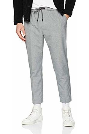 New Look Men's Fine Stripe Piped 6099632 Trousers