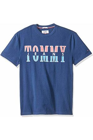 Tommy Hilfiger Men's Split Logo Crew Neck Vest