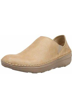 592526f0d46 FitFlop Women s Super Loafer - Shimmy Snake (Nude 137) 7 UK 41 EU