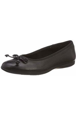 Clarks Girls' Jesse Shine Ballet Flats, ( Leather-)