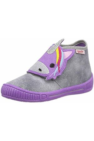 Superfit Girls' Bully Hi-Top Slippers