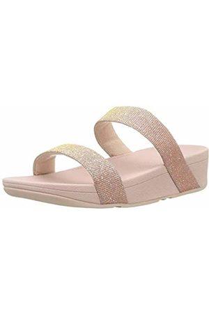 FitFlop Women's Lottie Glitzy Slide Open Toe Sandals