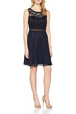 Vera Mont Women's's 0075/4825 Party Dress (Night Sky 8541) 6 (Size: 32)