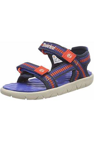 Timberland Sandals - Unisex Kid's Perkins Row Webbing Open Toe Sandals, (Nebulas T2j)