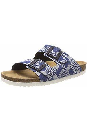 Tommy Hilfiger Women's Allover Flat Sandal Flip Flops