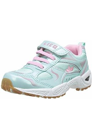 LICO Girls'' Bob Vs Multisport Indoor Shoes Turquoise Türkis/Rosa
