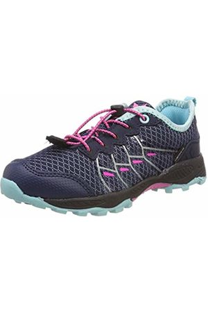 LICO Girls' Austin Low Rise Hiking Shoes, Marine/Türkis/