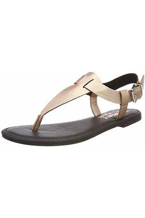 Tommy Hilfiger Women's's Shiny Metallic Flat Sandal Flip Flops