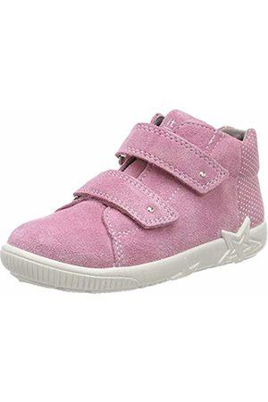 Superfit Baby Girls'' Starlight Low-Top Sneakers (Rosa 55) 4 UK