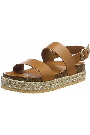 104deed153e Aldo Women s s RURYAN Ankle Strap Sandals Braun (Cognac ...