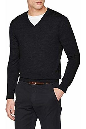 Celio Men's Merinos Turtleneck, Heather Anthracite